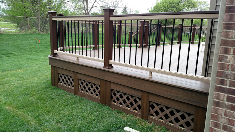 Trex Project Gallery 2 Supreme Deck Deck Builders Michigan