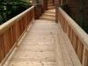 CEDAR BRIDGE TO FRONT PORCH DECK