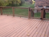 TREX ENHANCE BUILDERS RAIL WITH CUSTOM GATE