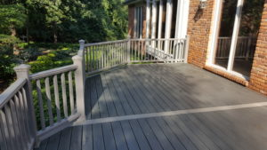 Trex Deck in Genoa Township, Michigan