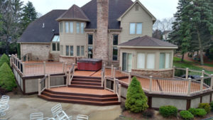 Composite Canton Twp, MichiganTrex Deck
