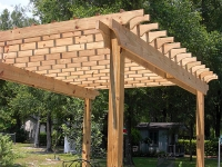 CUSTOM PRESSURE TREATED PERGOLA