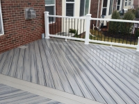 DECK FLOOR JUST CLEANED