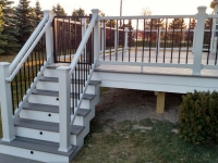 TREX TRANSCEND WITH TREX SELECT RAILING