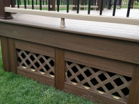 TREX SKIRTING AND RAIL FOOTBLOCK