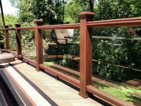TREX GLASS RAILING
