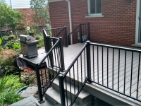 TREX REVEAL RAILING BLACK