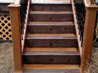 CUSTOM TREX STEPS