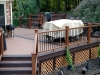 DECK WITH COMPOSITE LATTICE SKIRTING