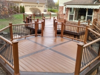 DECK OVERVIEW FROM WOODS
