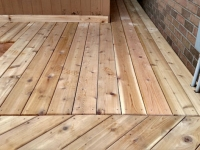 DECK SECTIONS WHERE TWO DIRECTIONS MEET
