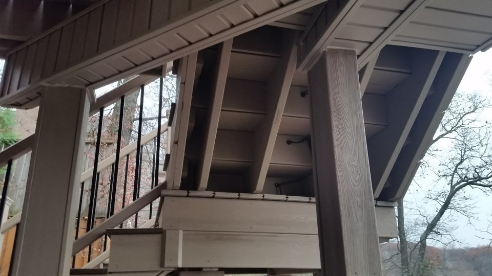 UNDERSIDE OF STAIRCASE