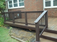 WOODLAND BROWN RAILING BY TREX