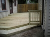 PRESSURE TREATED DECK AND FENCE