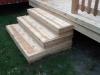 CEDAR STEPS BUILT TO MATCH