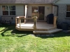CUSTOM SPINDLES AND FENCE ON DECK