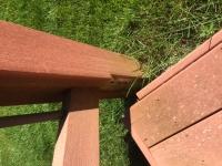 Step repair Trex Origions