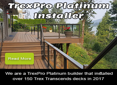 Trex Pro Platinum Installer South Lyon Michigan